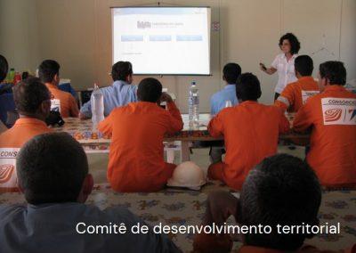 Comitês para o desenvolvimento territorial