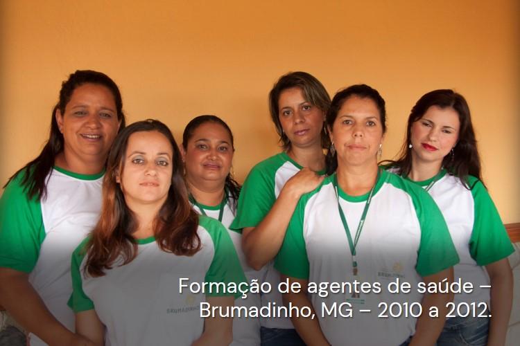 Formação de Agentes Comunitários de Saúde (ACSs)