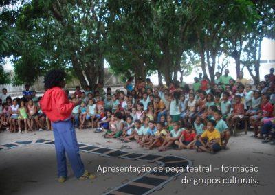 Formação de grupos culturais