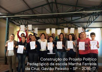 Projeto Político Pedagógico das escolas (PPP)